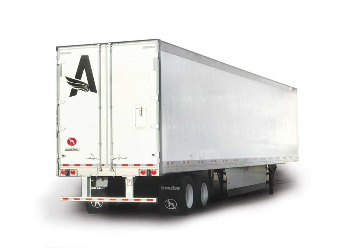 Semi Trailer Leasing Flat Rate For Dry Van Flatbed And